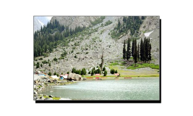 مہوڈنڈ جھیل کی خوبصورتی نظر آتی ہے مسائل نہیں
