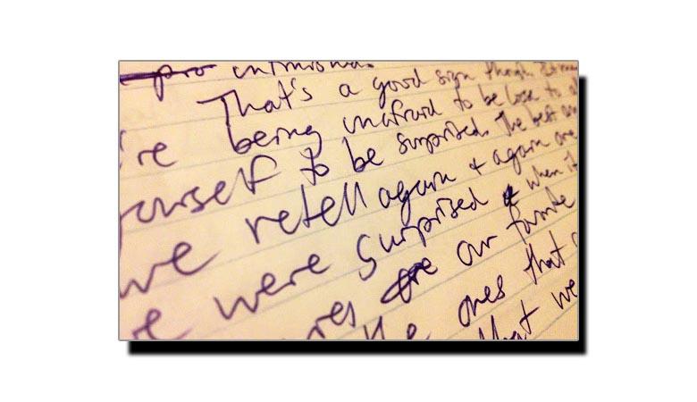 مانتے ہیں خراب لکھائی والے خداداد صلاحیتوں کے مالک ہوتے ہیں؟
