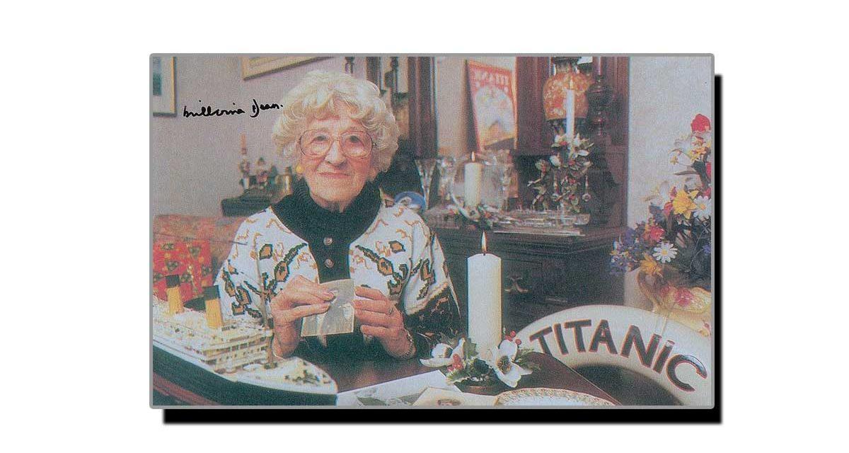31 مئی، ٹائی ٹینک کی بچ جانے والی آخری مسافر خاتون کا یومِ انتقال