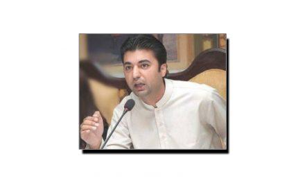 وفاقی وزیرِ مواصلات و پوسٹل سروسز مراد سعید کے نام