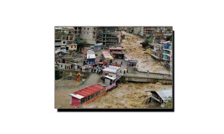 دریائے سوات میں اونچے درجے کا سیلاب، کئی پُل بہہ گئے (خصوصی رپورٹ)