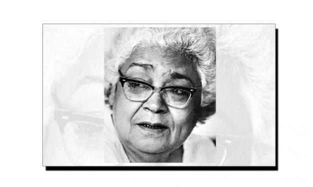 24 اکتوبر، عصمت چغتائی کا یومِ انتقال