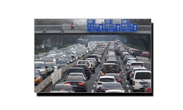 بیجنگ میں ٹریفک جام سے نجات کا عجیب و غریب حل