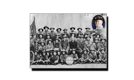 24 جنوری، جب اولین بوائے سکاؤٹ فوجی دستہ منظم کیا گیا