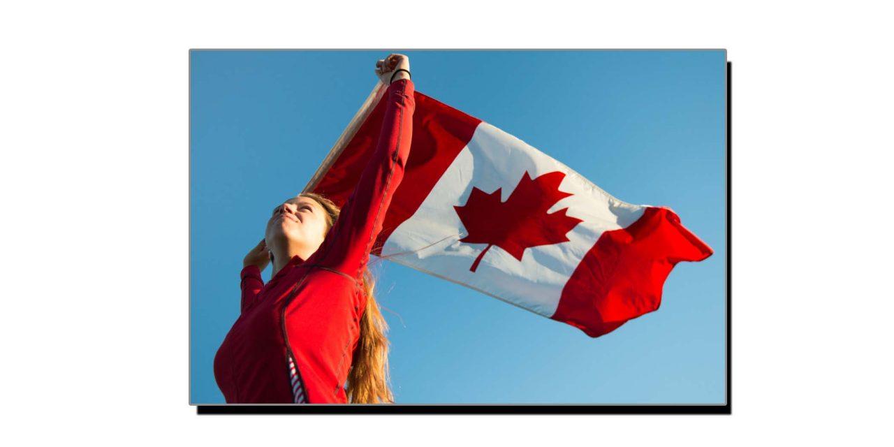 15 فروری، جب کینیڈا نے حالیہ پرچم اپنایا