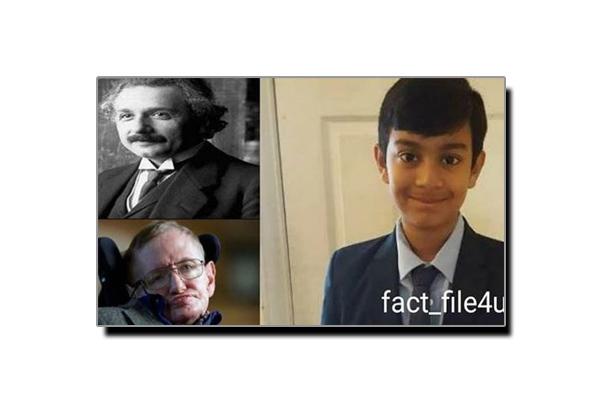 دنیا کے ذہین ترین انسانوں کا ریکارڈ توڑنے والا بچہ
