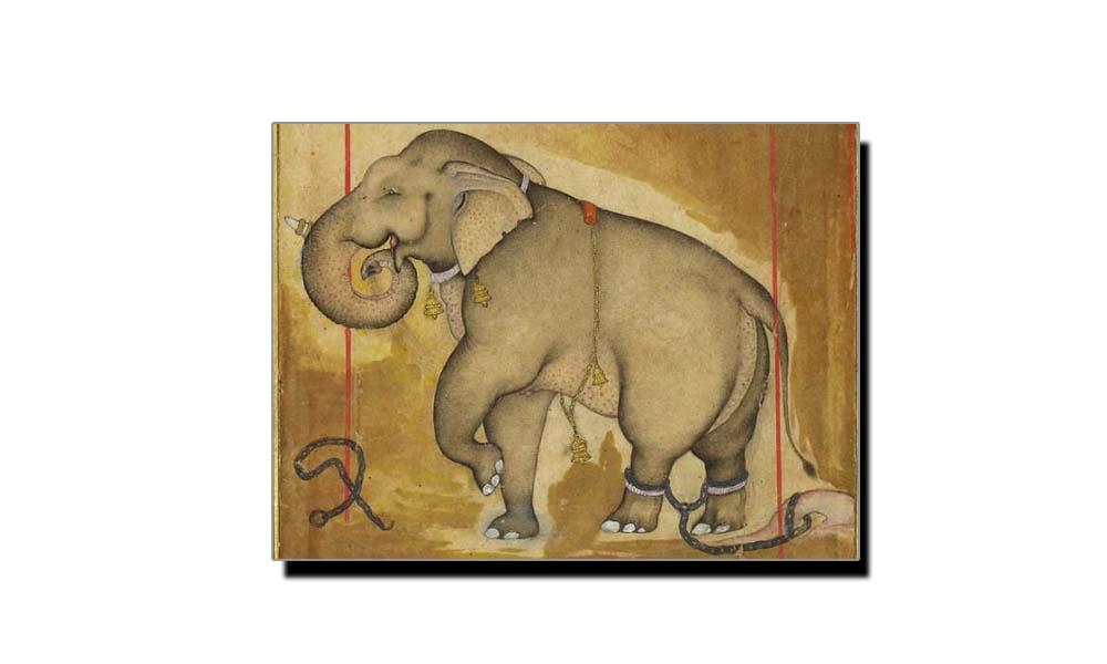 مولا بخش، بہادر شاہ ظفرؔ کا ہاتھی