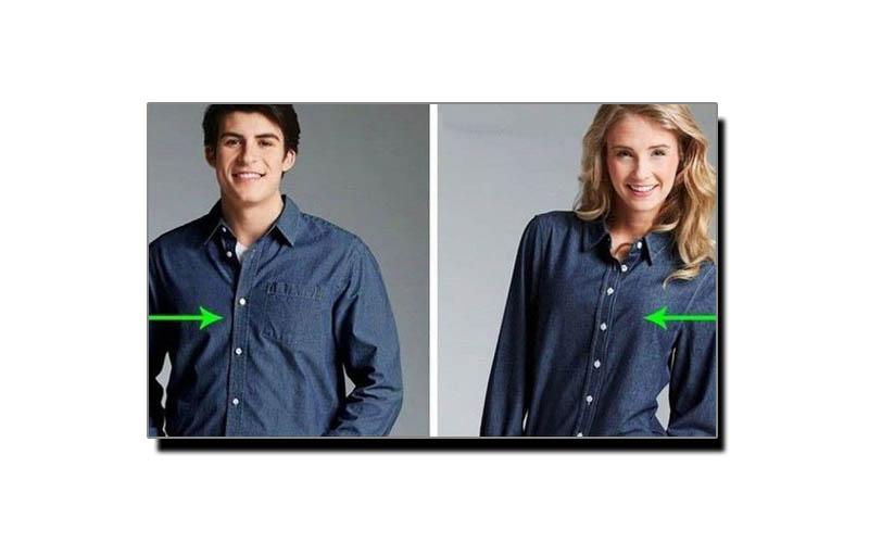 مردانہ اور زنانہ شرٹ کے بارے میں یہ فرق جانتے ہیں؟