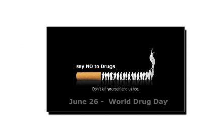 26 جون، انسدادِ منشیات کا عالمی دن