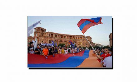 23 اگست، جب آرمینیا نے آزادی کا اعلان کیا