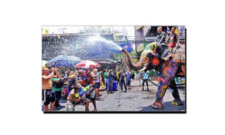 سونگ کران، تھائی لینڈ کا عجیب و غریب تہوار
