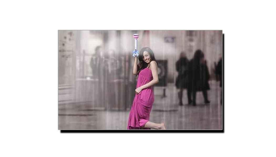 یہ ہے اس ڈیجیٹل دور کی عجیب و غریب چھتری